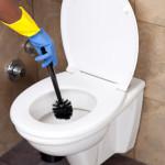noggran rengöring av badrum och toalett